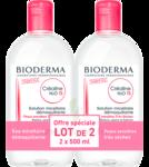 Acheter CREALINE TS H2O Solution micellaire sans parfum nettoyante apaisante 2Fl/500ml à Toulon