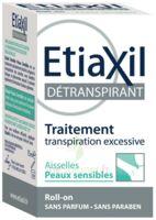 Etiaxil Aisselles Détranspirant Peau Sensibles Roll-on/15ml à Toulon