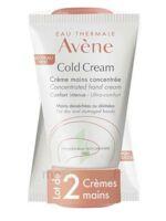 Avène Eau Thermale Cold Cream Duo Crème Mains 2x50ml à Toulon