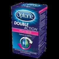 Optone Double Action Solution Oculaire Yeux Secs Fl/10ml à Toulon