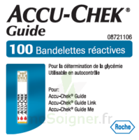 Accu-chek Guide Bandelettes 2 X 50 Bandelettes à Toulon