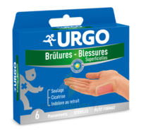Urgo Brulures-blessures Petit Format X 6 à Toulon