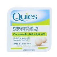 Quies Protection Auditive Cire Naturelle 8 Paires à Toulon