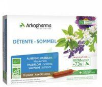 Arkofluide Bio Ultraextract Solution Buvable Détente Sommeil 20 Ampoules/10ml à Toulon