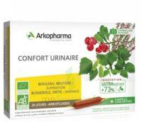 Arkofluide Bio Ultraextract Solution Buvable Confort Urinaire 20 Ampoules/10ml à Toulon
