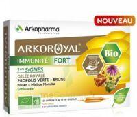 Arkoroyal Immunité Fort Solution Buvable 20 Ampoules/10ml à Toulon