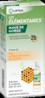 Les Elementaires Solution Buccale Maux De Gorge Adulte 30ml à Toulon