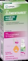 Les Elementaires Spray Buccal Maux De Gorge Enfant Fl/20ml à Toulon