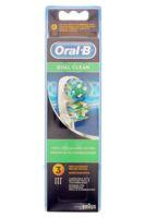 Brossette De Rechange Oral-b Dual Clean X 3 à Toulon