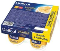 Delical Creme Dessert Hp Hc Sans Lactose, Pot 200 G X 4 à Toulon