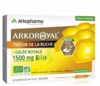 Arkoroyal Gelée Royale Bio 1500 Mg Solution Buvable 20 Ampoules/10ml à Toulon