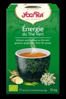 Yogi Tea Thé Energie Du Thé Vert Bio 17 Sachets/1,8g à Toulon