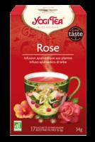 Yogi Tea Tisane AyurvÉdique Rose Bio 17sach/2g à Toulon