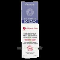 Jonzac Eau Thermale Sublimactive Crème Soin Contour Yeux Lèvres Jeunesse Immédiate 15ml à Toulon