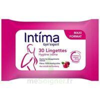 Intima Gyn'expert Lingettes Cranberry Paquet/30 à Toulon