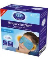 Optone Actimask Masque Chauffant Yeux Sans Parfum 8 Sachets/1 à Toulon
