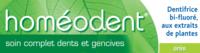 Boiron Homéodent Soin Complet Dents Et Gencives Pâte Dentifrice Anis 2t/75ml à Toulon
