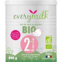 Everymilk Bio 2 Lait En Poudre B/800g à Toulon