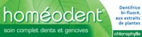 Boiron Homéodent Soin Complet Dents Et Gencives Pâte Dentifrice Chlorophylle 2t/75ml à Toulon