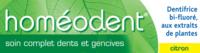 Boiron Homéodent Soin Complet Dents Et Gencives Pâte Dentifrice Citron 2t/75ml à Toulon