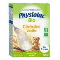 Physiolac Céréales Vanille Bio B/200g à Toulon