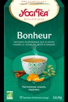 Yogi Tea Tisane Ayurvédique Bonheur Bio 17 Sachets/1,8g à Toulon